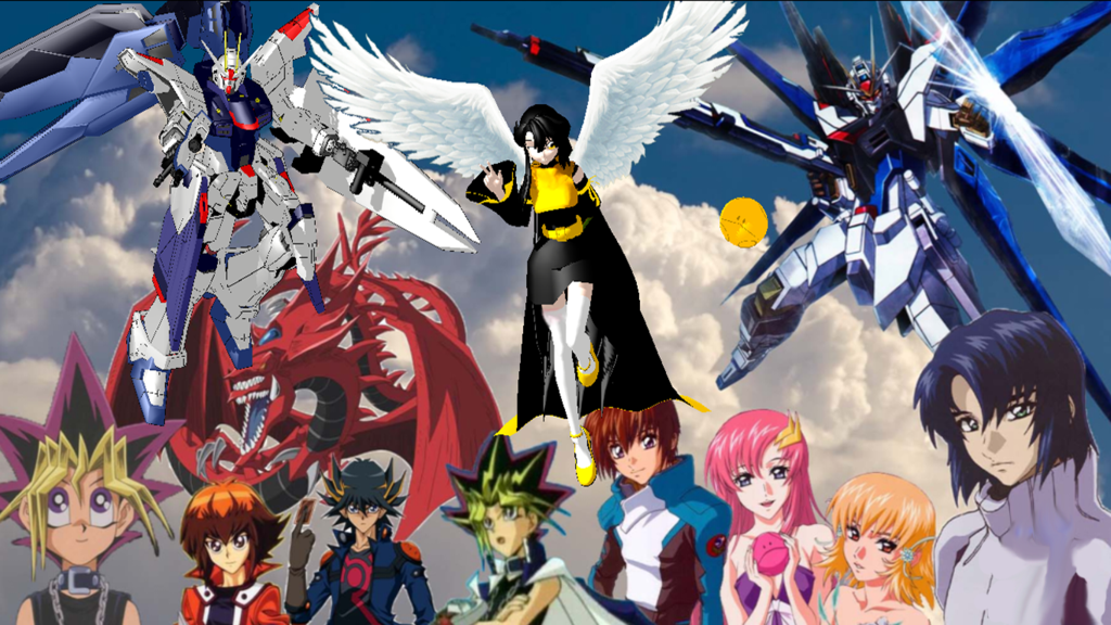Mmd Mobile Suit Future Gundam Seed Wallpaper By