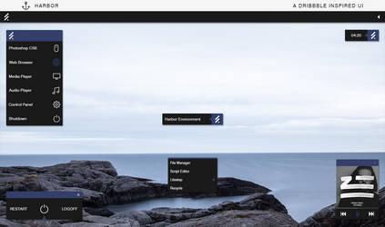 Harbor UI by ganknevets