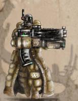 WWD Mech Hunter Soldier by ShamanX