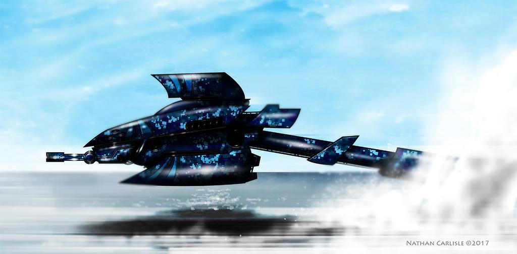 Blue Shark Attack Drone