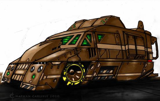 Stealth Van II WIP