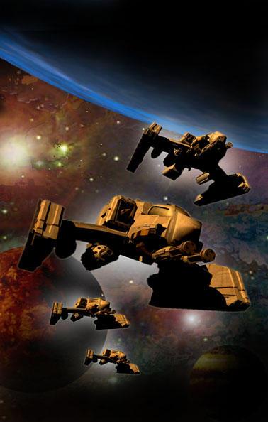 Spaceships by ShamanX