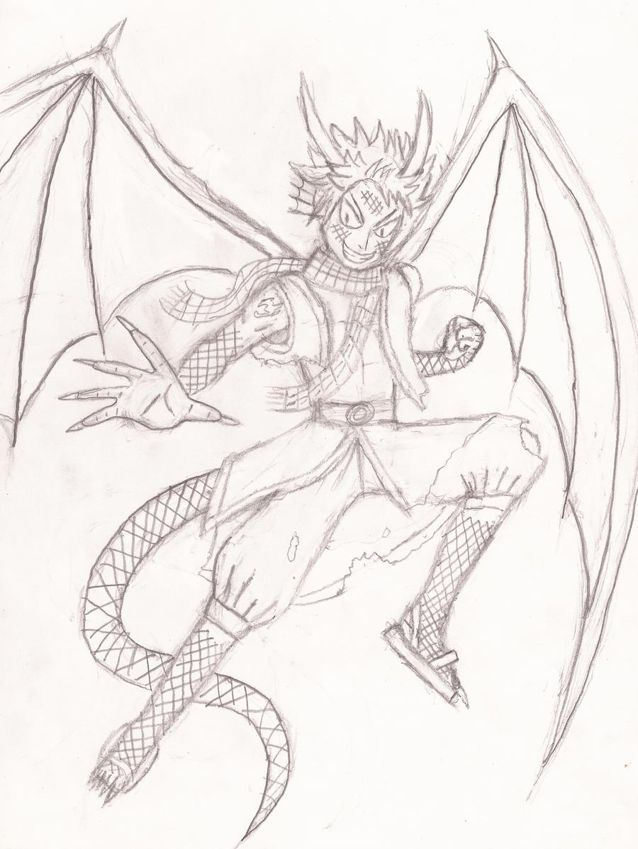 Natsu mastering Dragon...