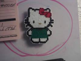 Hello Kitty Starbucks Magnet