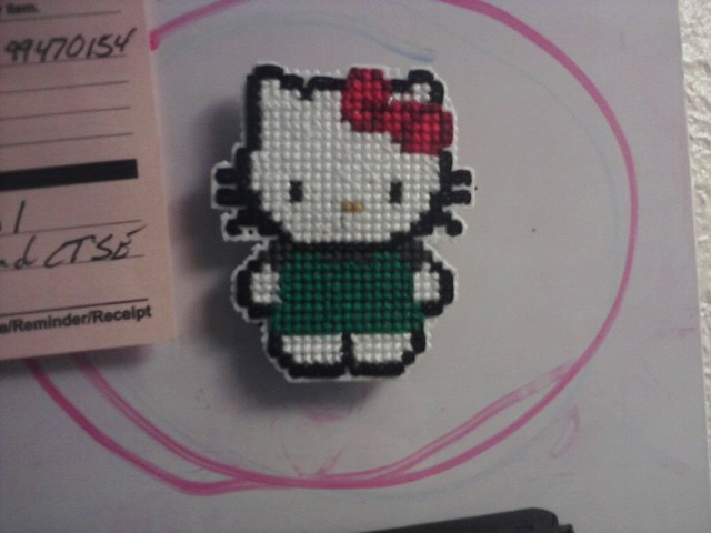 Hello Kitty Starbucks Magnet by Eimiisan