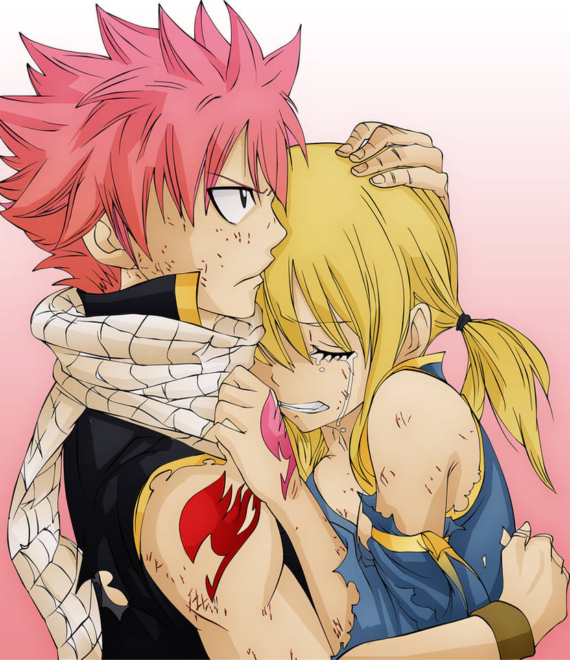 Fairy Tail - Lucy and Natsu by Eimiisan