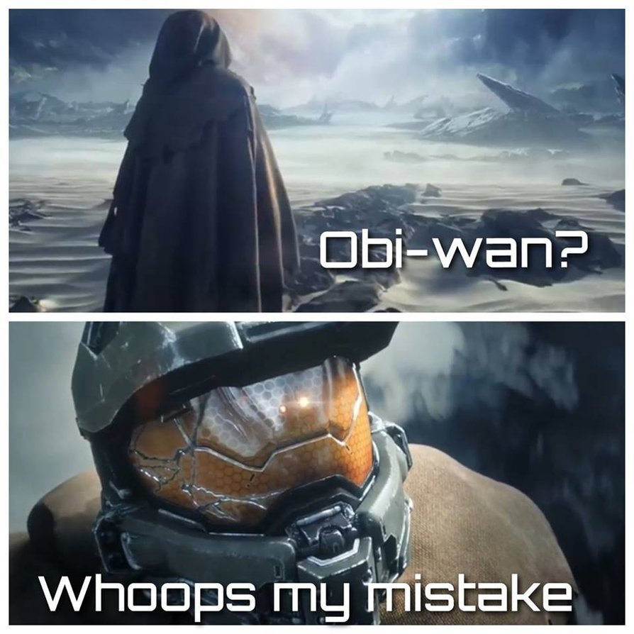 Star Wars/ HALO Meme by leonxiong