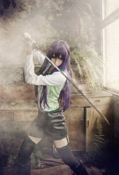 High School Of The Dead Saeko Busujima cosplay