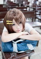K-On! Yui Hirasawa Cosplay by twndomn