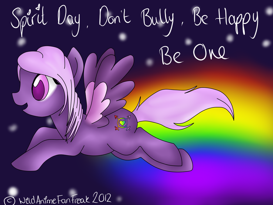 Spirit Day 2012 by WildAnimeKittyKat