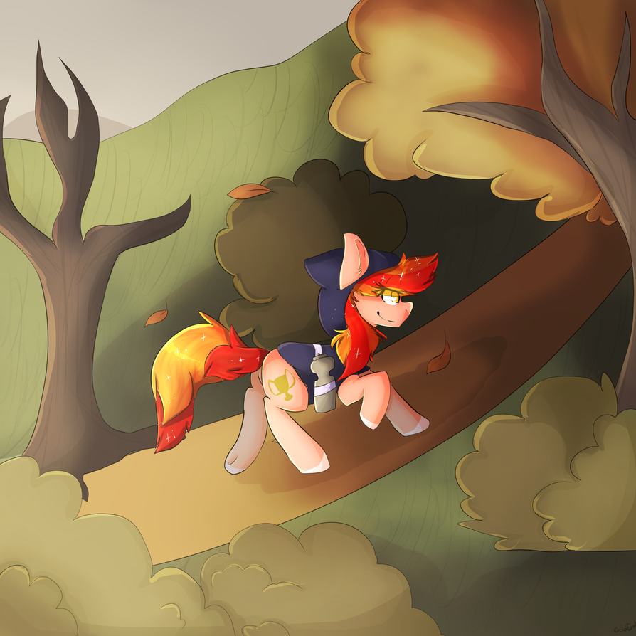 Oddend - Running of the Leaves by JaegerPony