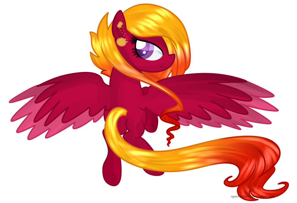 Sparkle-Bliss - Mistral Pyre by JaegerPony