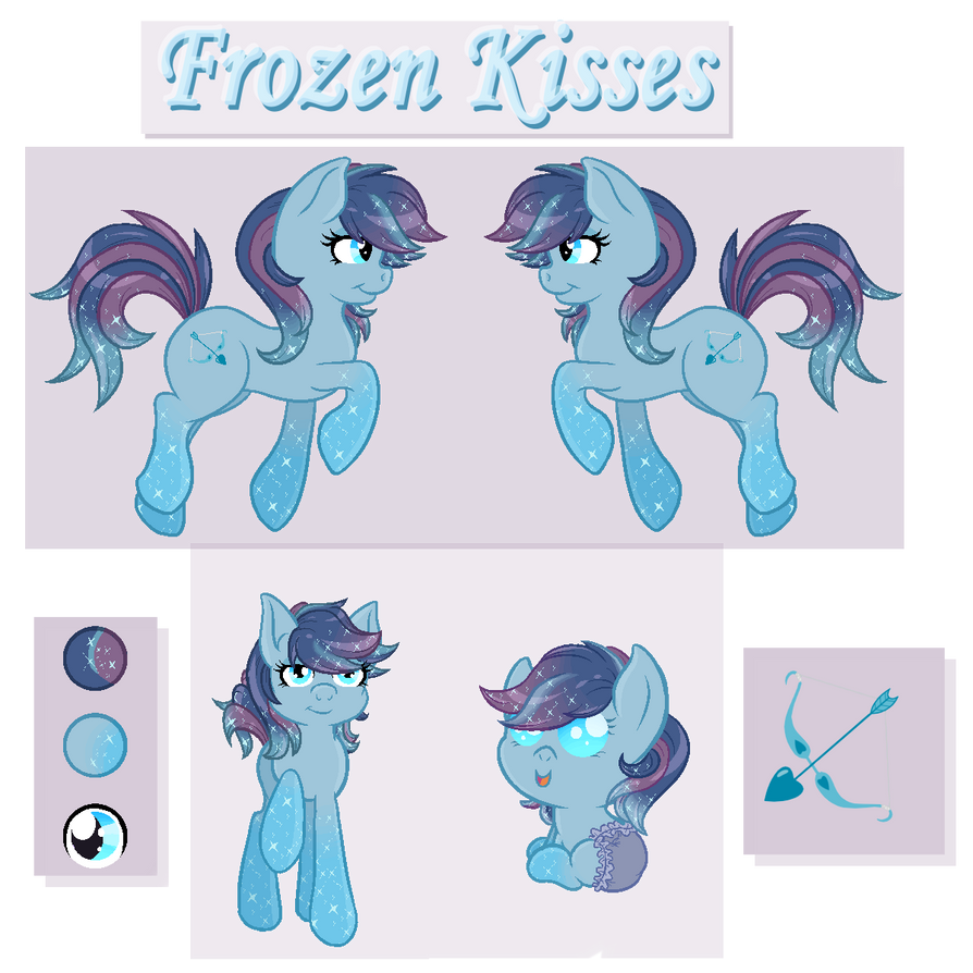 Blitzkatze - Frozen Kisses Reference Sheet by JaegerPony