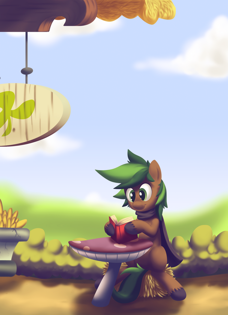 DatPonyPl - Jaeger Lunch Time by JaegerPony