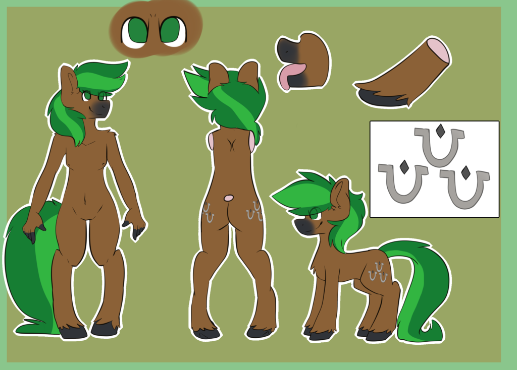 Oddend - YCH Reference Sheet Jaeger by JaegerPony