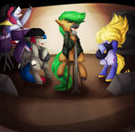 Oddends - The Band is Playing by JaegerPony