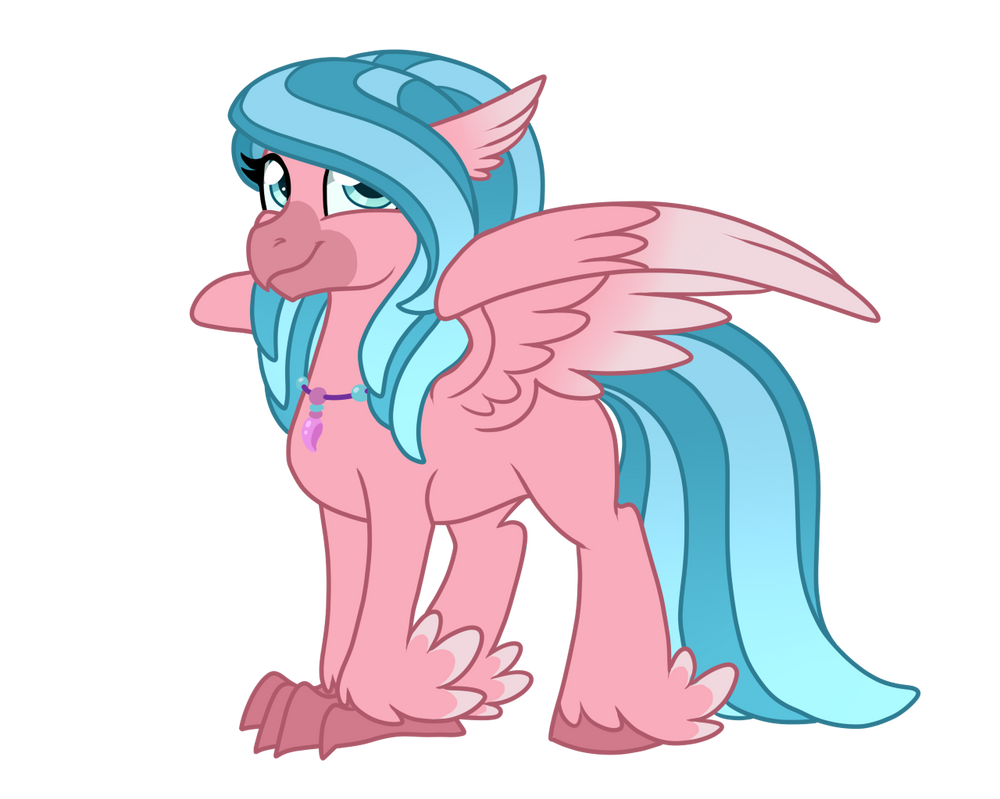 Tambelon - Cupcake Hippogriff Adopt by JaegerPony