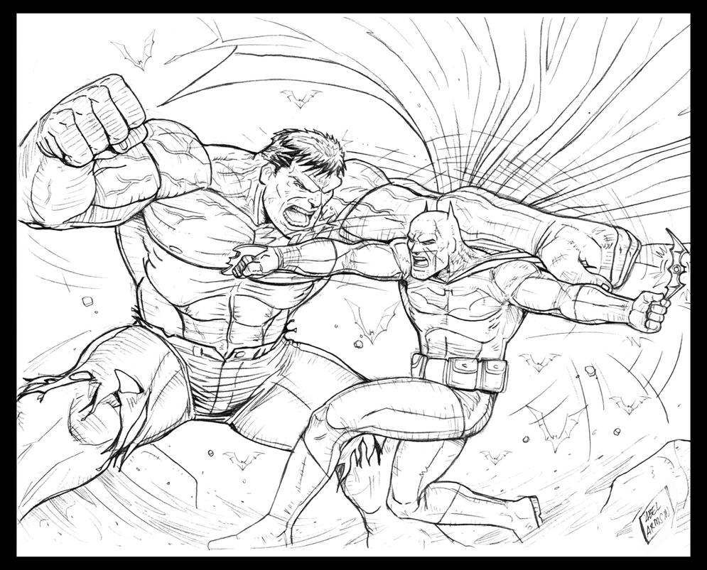 Hulk Vs Superman Coloring Pages Coloring Pages Printable Superman Vs Batman Coloring Pages For Free