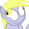 Derpy lose controll by BlackStar1127