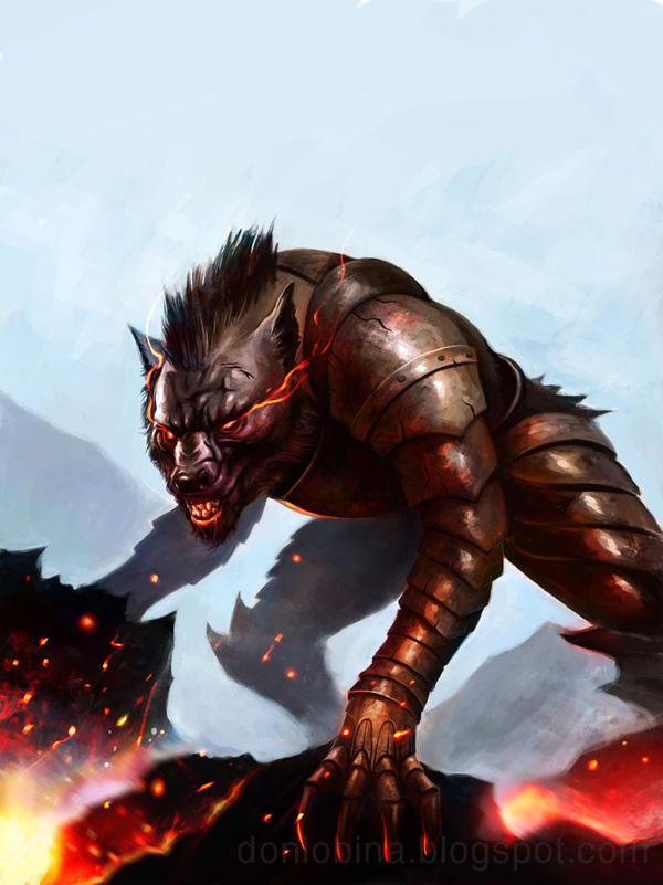 Wolf armor by doniobina