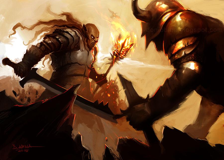 Clashed!! by doniobina