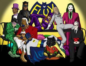 Flux vs. Batman Halloween