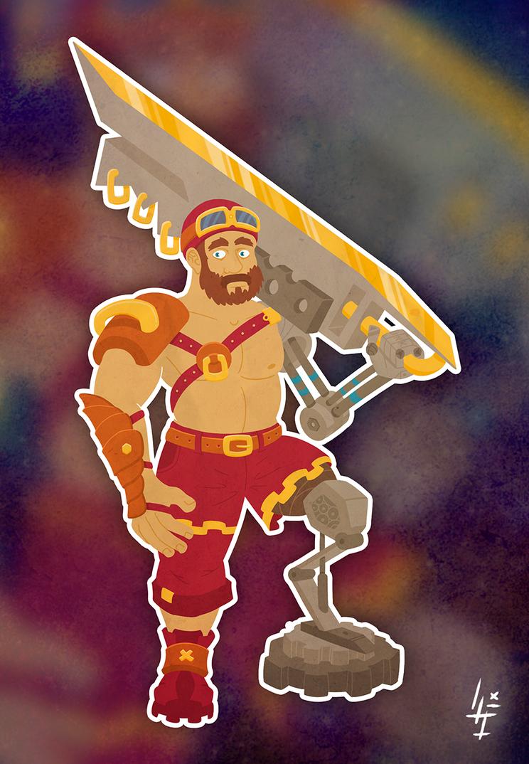 Steam Soldier by LupusInsanus