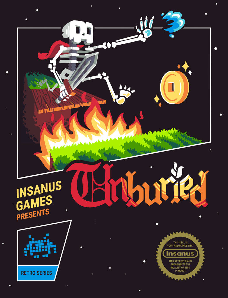 Unburied NES game cover