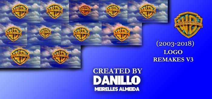 Warner Bros. Television (2003-) logo remakes V3