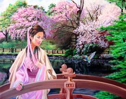 Oriental Bridge by maneki-neki