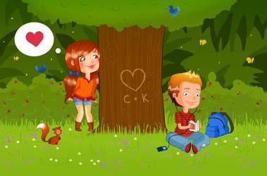 Love love love. by Littlesisi