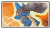 Lucario stamp 3 by LJ-Pokemon