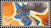 Lucario stamp 3 by LJ-Pokemon
