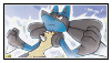 Lucario stamp 4 by LJ-Pokemon