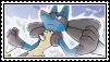 Lucario stamp 4 by LJ-Pokemon