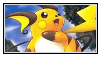 Raichu stamp 3 by LJ-Pokemon