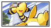 Ampharos stamp 2 by LJ-Pokemon