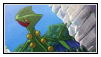Sceptile Stamp by LJ-Pokemon