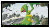 Sceptile stamp 2 by LJ-Pokemon