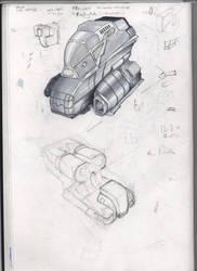 Concept Ship by zegerdon