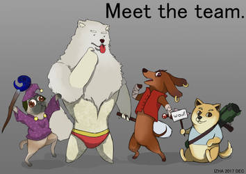Doggy Team by zegerdon