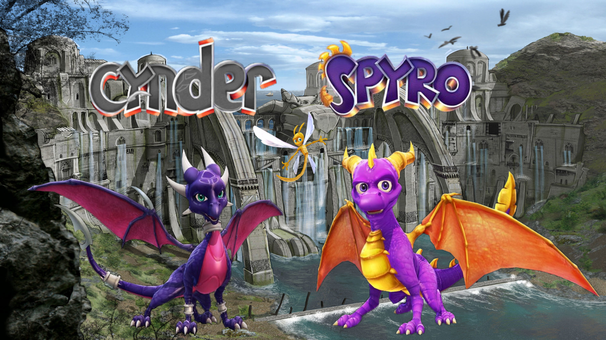 The Legend Of Spyro And Cynder Wallpaper By ZikoAFX