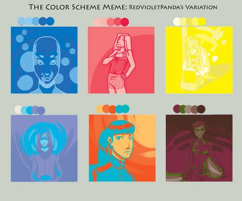 RedVioletPanda's Color Scheme Meme - H.I.V.E.