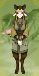 Avatar Kyoshi by black-angel-kitteh