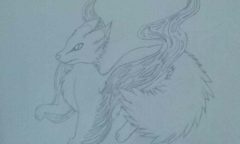 Wind Spirit: fox by DemensionWalker