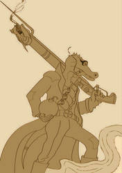 WIP - Kobold's Got a Gun