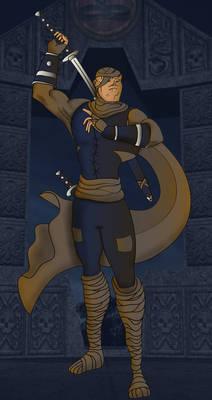 Kurabara, DnD Ninja-Assassin