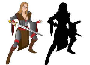 Caitlin the Swordmaiden