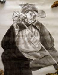 Lifesize Swashbuckler Portrait