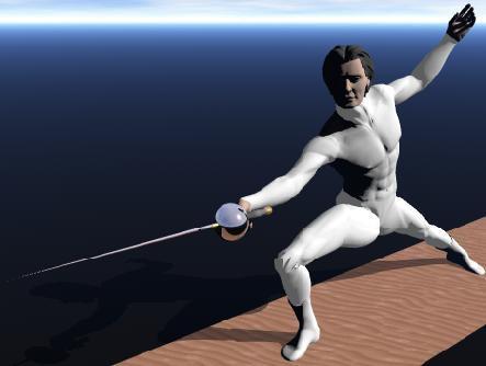 Fencer by gadren